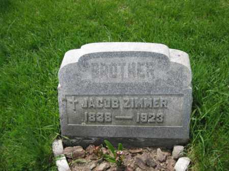 ZIMMER, JACOB - Bucks County, Pennsylvania   JACOB ZIMMER - Pennsylvania Gravestone Photos