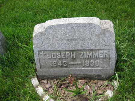 ZIMMER, JOSEPH - Bucks County, Pennsylvania | JOSEPH ZIMMER - Pennsylvania Gravestone Photos