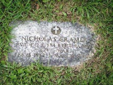 KRAMER (CW), NICHOLAS - Butler County, Pennsylvania | NICHOLAS KRAMER (CW) - Pennsylvania Gravestone Photos