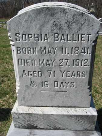 BALLIET, SOPHIA - Carbon County, Pennsylvania   SOPHIA BALLIET - Pennsylvania Gravestone Photos