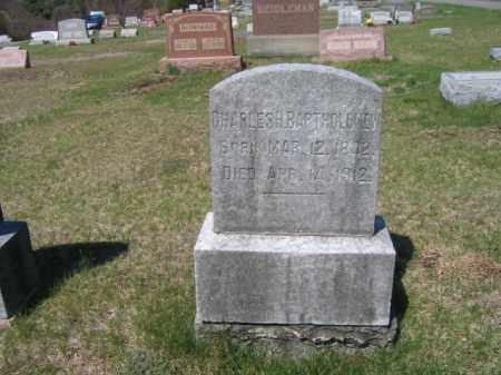 BARTHOLOMEW, CHARLES H. - Carbon County, Pennsylvania | CHARLES H. BARTHOLOMEW - Pennsylvania Gravestone Photos