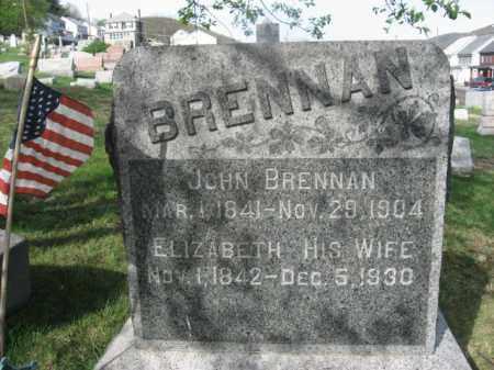 BRENNAN, ELIZABETH - Carbon County, Pennsylvania | ELIZABETH BRENNAN - Pennsylvania Gravestone Photos