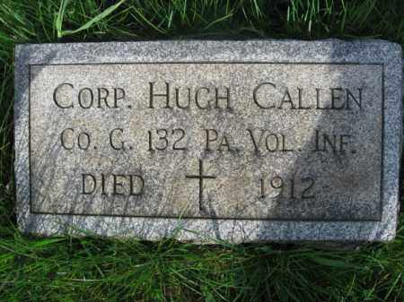 CALLEN (COLLAN) (CW), CORP.HUGH - Carbon County, Pennsylvania | CORP.HUGH CALLEN (COLLAN) (CW) - Pennsylvania Gravestone Photos
