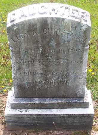 CHRISTMAN, LUCY A. - Carbon County, Pennsylvania | LUCY A. CHRISTMAN - Pennsylvania Gravestone Photos