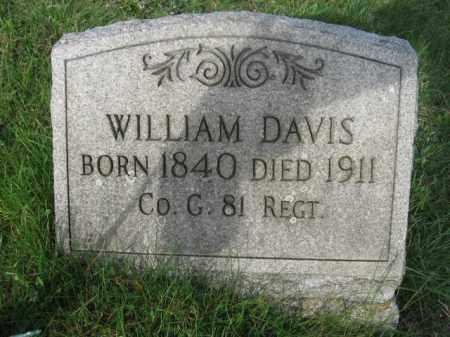 DAVIS (CW), WILLIAM - Carbon County, Pennsylvania | WILLIAM DAVIS (CW) - Pennsylvania Gravestone Photos