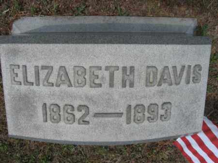 DAVIS, ELIABETH - Carbon County, Pennsylvania | ELIABETH DAVIS - Pennsylvania Gravestone Photos