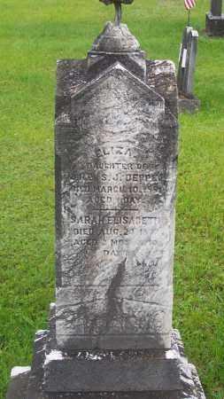 DEPPE, ELIZA D. - Carbon County, Pennsylvania | ELIZA D. DEPPE - Pennsylvania Gravestone Photos
