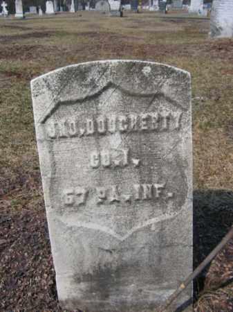 DOUGHERTY (CW), JOHN - Carbon County, Pennsylvania | JOHN DOUGHERTY (CW) - Pennsylvania Gravestone Photos