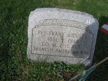 DUFFY (SAW), FRANK - Carbon County, Pennsylvania | FRANK DUFFY (SAW) - Pennsylvania Gravestone Photos