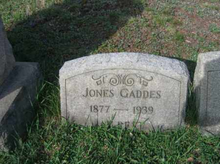 GADDES, JONES - Carbon County, Pennsylvania | JONES GADDES - Pennsylvania Gravestone Photos