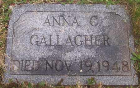 GALLAGHER, ANNA C. - Carbon County, Pennsylvania | ANNA C. GALLAGHER - Pennsylvania Gravestone Photos