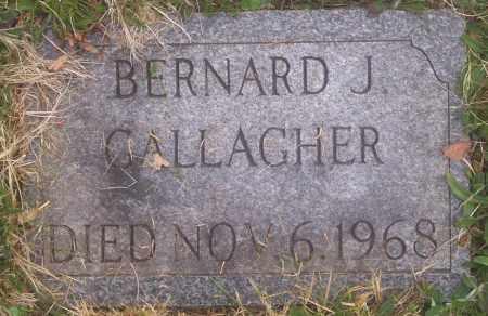 GALLAGHER, BERNARD J. - Carbon County, Pennsylvania   BERNARD J. GALLAGHER - Pennsylvania Gravestone Photos