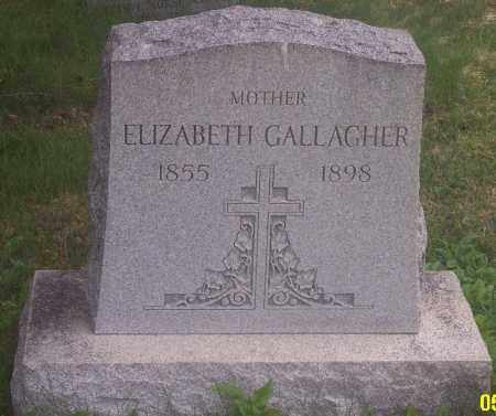 GALLAGHER, ELIZABETH - Carbon County, Pennsylvania | ELIZABETH GALLAGHER - Pennsylvania Gravestone Photos