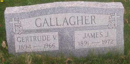 GALLAGHER, JAMES J. - Carbon County, Pennsylvania | JAMES J. GALLAGHER - Pennsylvania Gravestone Photos
