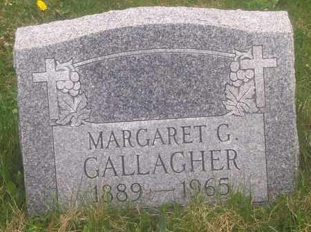 GALLAGHER, MARGARET G. - Carbon County, Pennsylvania | MARGARET G. GALLAGHER - Pennsylvania Gravestone Photos