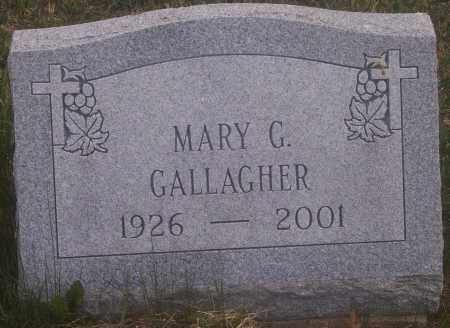 GALLAGHER, MARY G. - Carbon County, Pennsylvania | MARY G. GALLAGHER - Pennsylvania Gravestone Photos