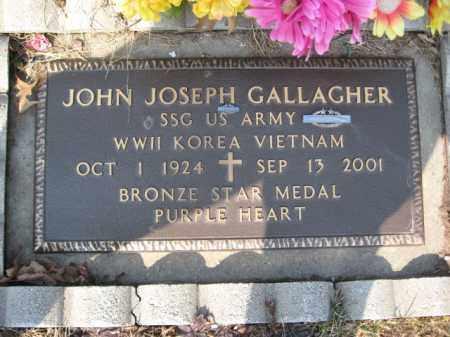 GALLAGHER (WW II-KOREA-V/N), JOHN JOSEPH - Carbon County, Pennsylvania   JOHN JOSEPH GALLAGHER (WW II-KOREA-V/N) - Pennsylvania Gravestone Photos