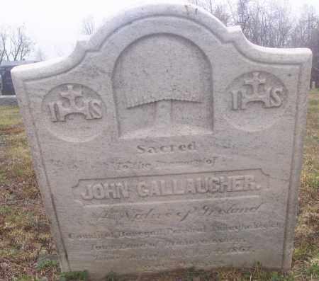 GALLAUGHER, JOHN - Carbon County, Pennsylvania | JOHN GALLAUGHER - Pennsylvania Gravestone Photos