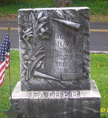 HAWK (CW), JACOB SERFASS - Carbon County, Pennsylvania | JACOB SERFASS HAWK (CW) - Pennsylvania Gravestone Photos