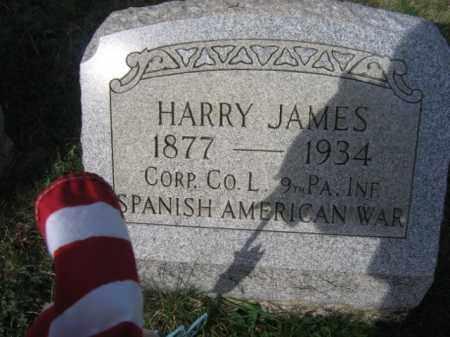 JAMES (SAW), HARRY - Carbon County, Pennsylvania | HARRY JAMES (SAW) - Pennsylvania Gravestone Photos