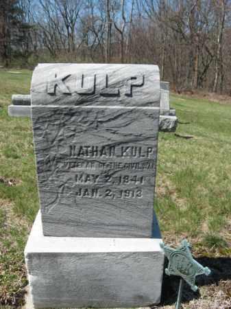 KULP (CW), NATHAN - Carbon County, Pennsylvania   NATHAN KULP (CW) - Pennsylvania Gravestone Photos