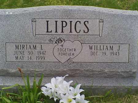 LIPICS, MIRIAM L. - Carbon County, Pennsylvania | MIRIAM L. LIPICS - Pennsylvania Gravestone Photos