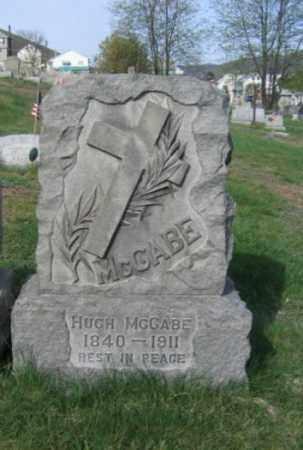 MCCABE, HUGH - Carbon County, Pennsylvania | HUGH MCCABE - Pennsylvania Gravestone Photos