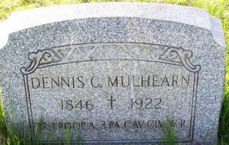 MULHEARN (CW), DENNIS C. - Carbon County, Pennsylvania | DENNIS C. MULHEARN (CW) - Pennsylvania Gravestone Photos