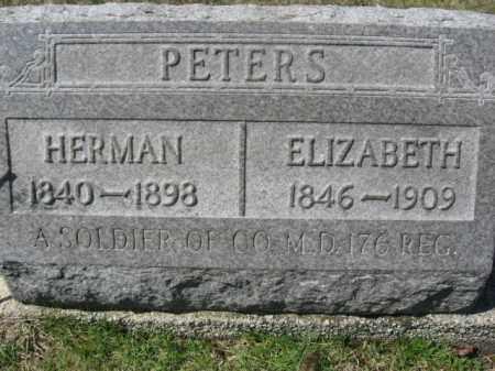 PETERS (CW), HERMAN - Carbon County, Pennsylvania | HERMAN PETERS (CW) - Pennsylvania Gravestone Photos