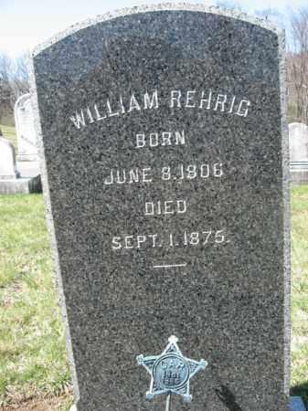 REHRIG (CW), WILLIAM - Carbon County, Pennsylvania | WILLIAM REHRIG (CW) - Pennsylvania Gravestone Photos