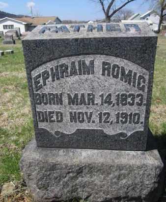 ROMIG, EPHRAIM - Carbon County, Pennsylvania | EPHRAIM ROMIG - Pennsylvania Gravestone Photos