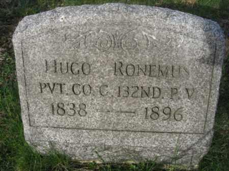 RONEMUS (CW), HUGO - Carbon County, Pennsylvania | HUGO RONEMUS (CW) - Pennsylvania Gravestone Photos