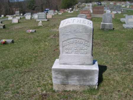 SERFASS (CW), JACOB - Carbon County, Pennsylvania | JACOB SERFASS (CW) - Pennsylvania Gravestone Photos