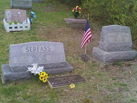 SERFASS, CONSTANCE - Carbon County, Pennsylvania | CONSTANCE SERFASS - Pennsylvania Gravestone Photos
