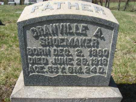 SHOEMAKER, GRANVILLE A. - Carbon County, Pennsylvania   GRANVILLE A. SHOEMAKER - Pennsylvania Gravestone Photos