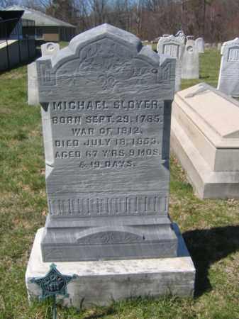 SLOYER, MICHAEL - Carbon County, Pennsylvania   MICHAEL SLOYER - Pennsylvania Gravestone Photos