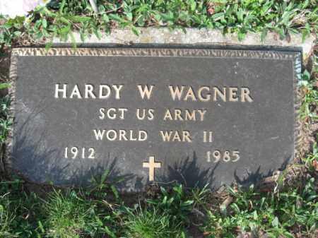 WAGNER (WW II), HARDY W. - Carbon County, Pennsylvania | HARDY W. WAGNER (WW II) - Pennsylvania Gravestone Photos