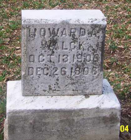 WALCK, HOWARD A. - Carbon County, Pennsylvania | HOWARD A. WALCK - Pennsylvania Gravestone Photos