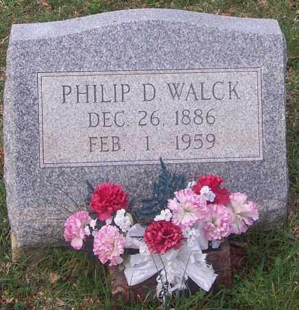 WALCK, PHILIP D. - Carbon County, Pennsylvania | PHILIP D. WALCK - Pennsylvania Gravestone Photos