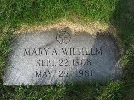 WILHELM, MARY - Carbon County, Pennsylvania   MARY WILHELM - Pennsylvania Gravestone Photos