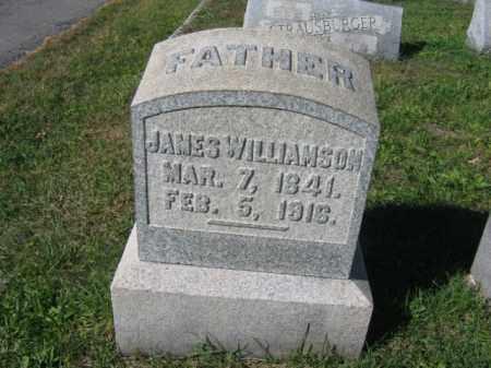 WILLIAMSON, JAMES - Carbon County, Pennsylvania   JAMES WILLIAMSON - Pennsylvania Gravestone Photos