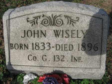 WISELY (CW), JOHN - Carbon County, Pennsylvania   JOHN WISELY (CW) - Pennsylvania Gravestone Photos