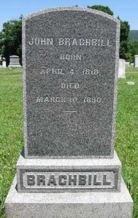 BRACHBILL, JOHN - Centre County, Pennsylvania | JOHN BRACHBILL - Pennsylvania Gravestone Photos