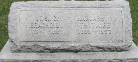 BRACHBILL, JOHN C - Centre County, Pennsylvania | JOHN C BRACHBILL - Pennsylvania Gravestone Photos