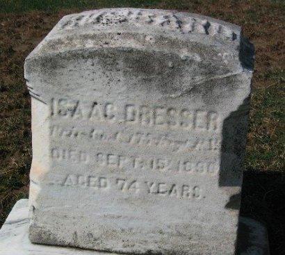 DRESSER (CW), ISAAC - Chester County, Pennsylvania | ISAAC DRESSER (CW) - Pennsylvania Gravestone Photos