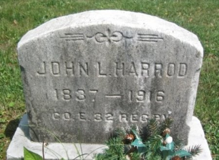 HARROD (CW), JOHN L. - Chester County, Pennsylvania   JOHN L. HARROD (CW) - Pennsylvania Gravestone Photos