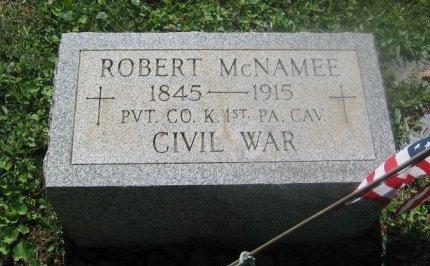 MCNAMEE (CW), ROBERT - Chester County, Pennsylvania | ROBERT MCNAMEE (CW) - Pennsylvania Gravestone Photos