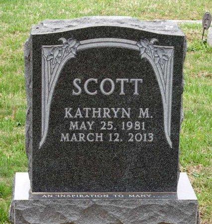 SCOTT, KATHRYN M. - Chester County, Pennsylvania | KATHRYN M. SCOTT - Pennsylvania Gravestone Photos