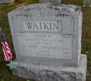 WATKIN (CW), CALEB B. - Chester County, Pennsylvania | CALEB B. WATKIN (CW) - Pennsylvania Gravestone Photos