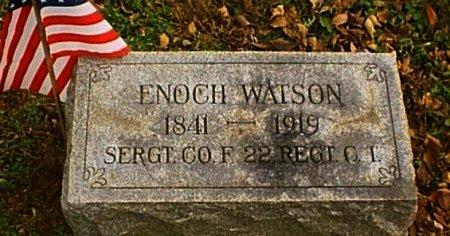 WATSON (CW), ENOCH - Chester County, Pennsylvania | ENOCH WATSON (CW) - Pennsylvania Gravestone Photos